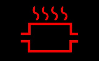 排気温度警告灯