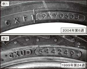 タイヤ セリアルナンバー