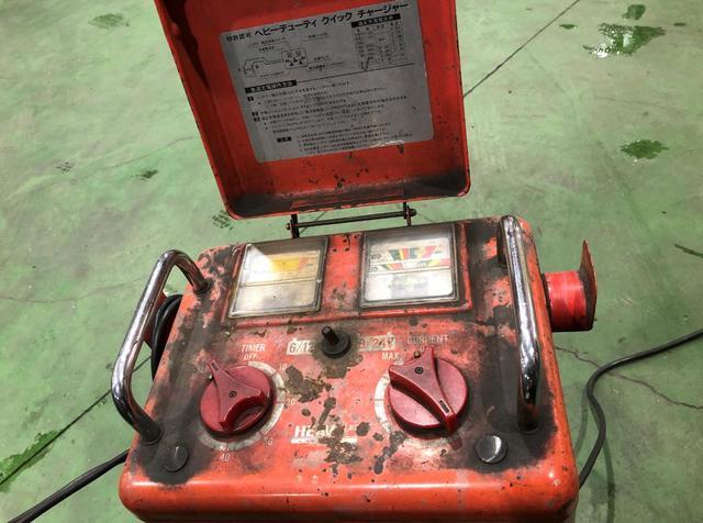 バッテリー上がり ガソリンスタンド
