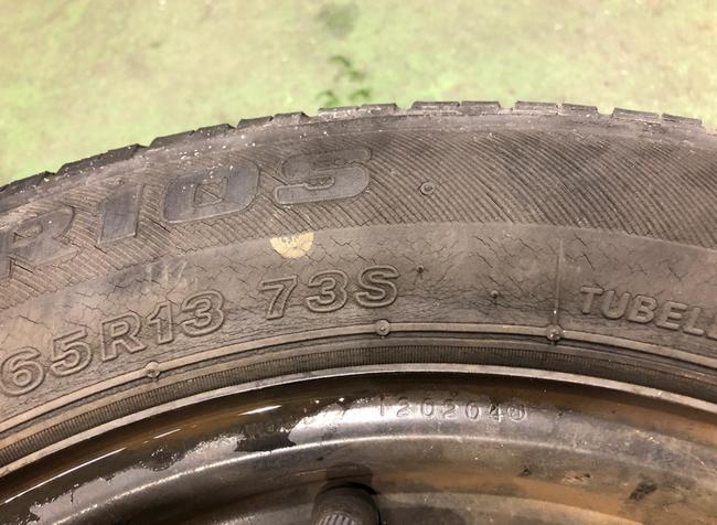 タイヤ ひび割れ 膨らみ