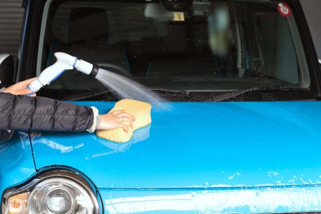 車 ウロコ取り 洗車
